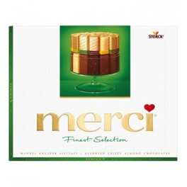Merci Finest Selection, Mandlová kreace s krokantem, 250g