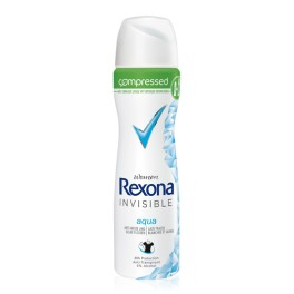 Rexona Invisible aqua compressed Deodorant, 150ml