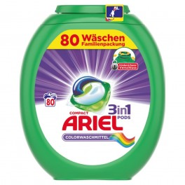 ARIEL 3in1 Pods, 80 kusů