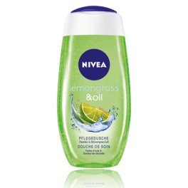 NIVEA Lemongrass + Oil Sprchový gel, 250ml
