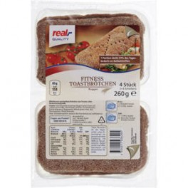 Real Fitness toasty, 260g